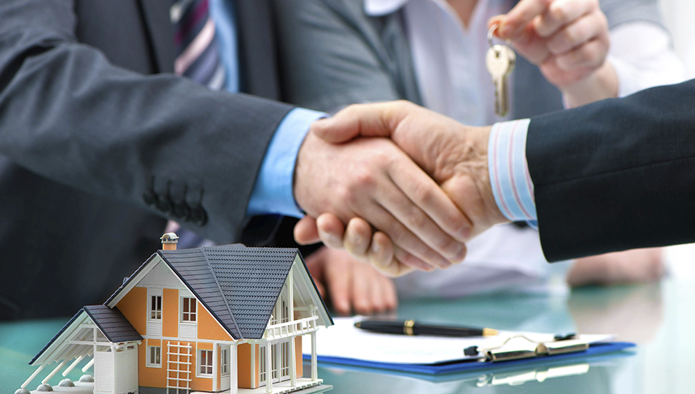 Real Estate agents. Photostock