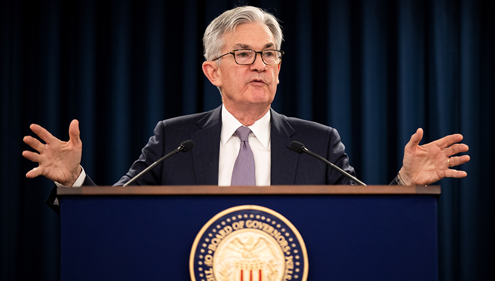 Federal Reserve Chairman Jerome Powell.   Photo: AP