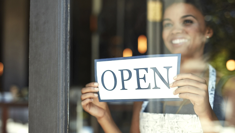 Being open for business means being open to your customers' needs. | Photo: Getty Images