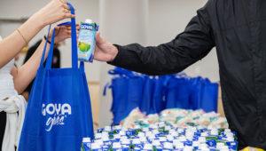 Goya Foods hace una donación inicial de más de 200,000 libras de alimentos y más de 20,000 máscaras en todo el país durante la pandemia del Covid-19. | Foto: Goya Gives