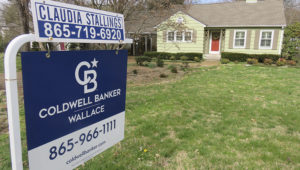 This cottage style home on Southgate Road SW in Sequoyah Hills, pictured on March 4, 2020, is being offered by Coldwell Banker Wallace. John Shearer/Shopper News