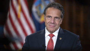 Governor Andrew M. Cuomo delivers remarks at the 2020 National Governors Association Summer Virtual Meeting at the State Capitol in Albany. August 5, 2020 - Albany, NY - (Mike Groll/Office of Governor Andrew M. Cuomo)
