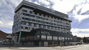 The Source Hotel of the River North Art District in Denver, Colorado on Wednesday. March 25, 2020. Photo: Hyoung Chang/The Denver Post.