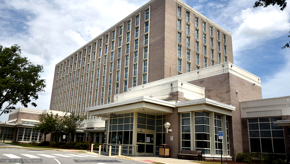 New Hanover Regional Medical Center is expected to draw a lot of interest from a lot of different parties if the county commissioners decide to explore a possible sale of the county-owned hospital. [MATT BORN/STARNEWS]