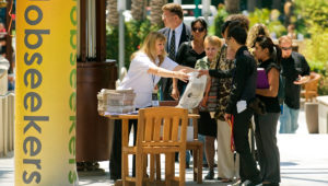 In the four counties covered by the Southern California News Group, the combined unemployment rate fell to 3.9 percent vs. 4.2 percent in February, the lowest in current database from the state's Employment Development Department that dates to 1990. (File photo by Mark Rightmire, Orange County Register/SCNG)
