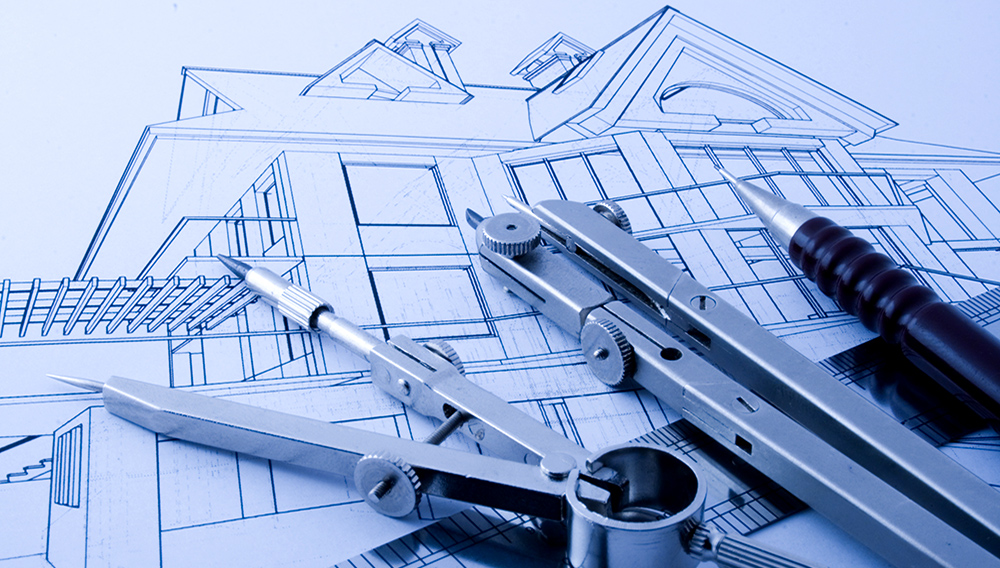 Architecture draw & instruments. | Photo: 123RF.com