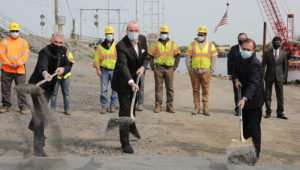 Governor Phil Murphy hosts groundbreaking ceremony for Raritan River Bridge Construction Project on Tuesday September 15th, 2020 (Edwin J. Torres/Governor's Office).