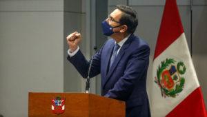 Peruvian President Martín Vizcarra. | Photo: Presidencia Perú (Flickr)