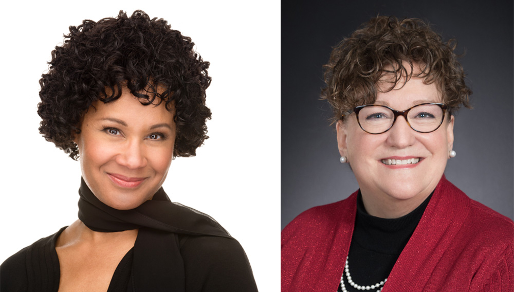 """Cherylyn Harley LeBon is a lawyer, business strategist, and speaker with more than 20 years of experience in Washington, D.C. Julie Poland is a speaker, author and """"7 Attributes of Agile Growth"""" Certified Coach. 