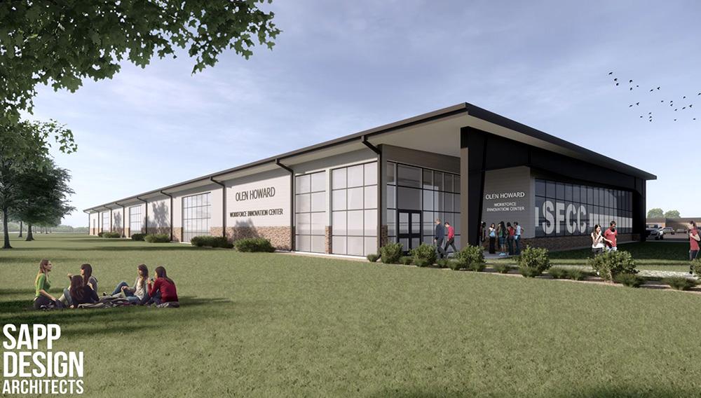 Olen Howard Workforce Innovation Center. | Photo: State Fair Community College