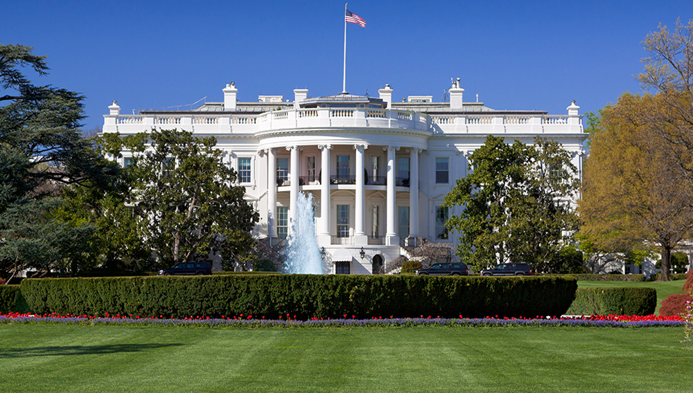 South Portico Of The White House Washington DC. | OlegAlbinsky/Getty Images/iStockphoto