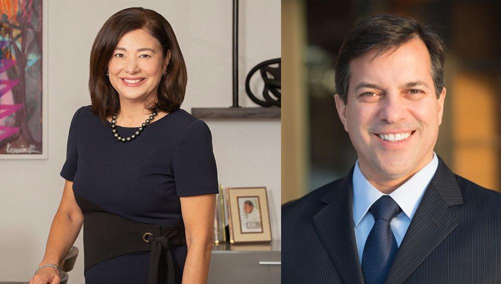 Alice Rodriguez and Nelson Reyneri. | Photo: United States Hispanic Chamber of Commerce (USHCC)