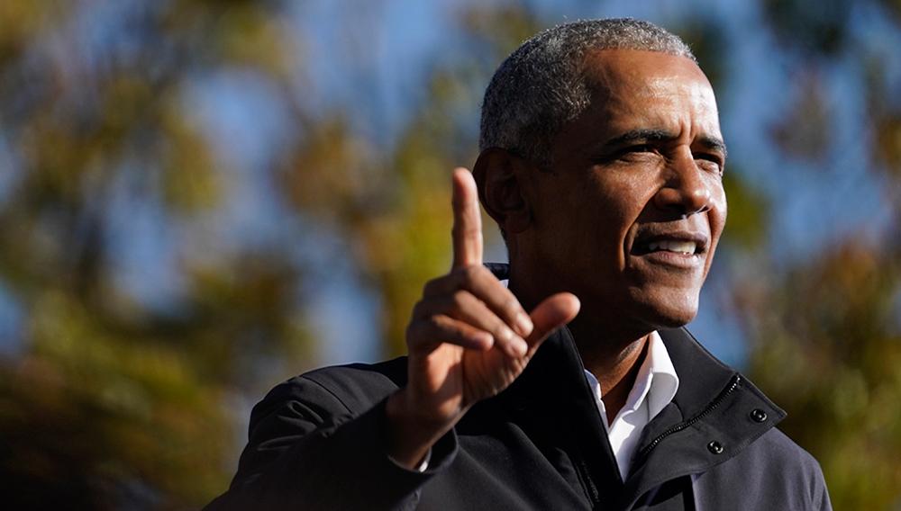 Former President Barack Obama. | AP Photo/Brynn Anderson