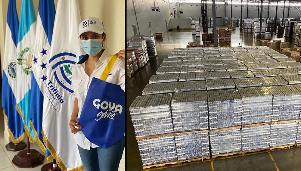 Goya Donates 300,000 Pounds Of Food To Honduras, El Salvador, And Guatemala #GoyaGivesGlobal.   Photo: Goya Foods