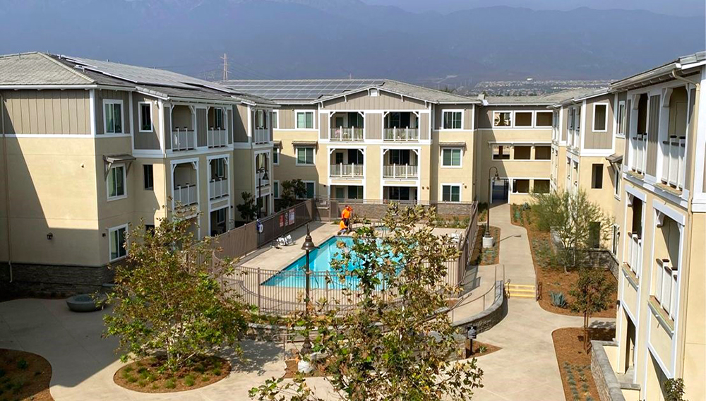 IEHP has partnered with National Community Renaissance to provide $1.5 million to support construction of the Day Creek Senior Villas in Rancho Cucamonga, Calif. These villas will provide affordable housing to hundreds of low-income seniors.