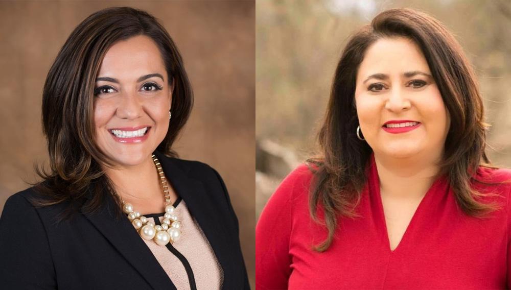 Anna Tovar and Lea Marquez Peterson. | Photo: United States Hispanic Chamber of Commerce (USHCC)