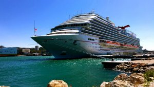 The 133,500-ton Carnival Vista carries a maximum of 4,980 passengers. CHRIS OWEN FOR USA TODAY