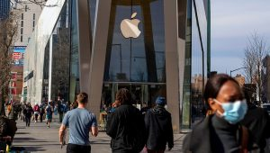 An Apple Store in Brooklyn. | Victor J. Blue for The New York Times