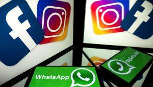 Logos de las redes sociales de Facebook. | Foto: Internet