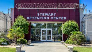 Photo: Stewart Detention Center. | CoreCivic.com