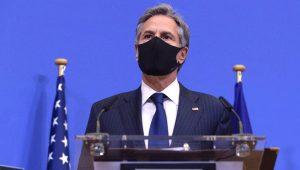 Imagen del secretario de Estado de Estados Unidos, Antony Blinken. (JOHANNA GERON / POOL / AFP).