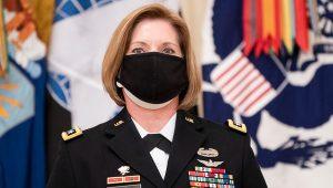 En la imagen, la teniente general Laura Richardson, nueva jefa del Comando Sur de las Fuerzas Armadas de EE.UU. EFE/Kevin Dietsch/Pool/Archivo