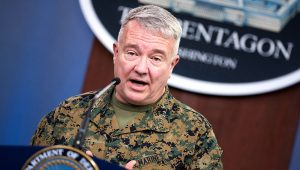 The commander of U.S. Central Command, Marine Corps Gen. Kenneth F. McKenzie Jr. | Photo: Defense.gov