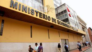 FOTO: Sede del Ministerio de Economía y Finanzas (MEF). | ANDINA