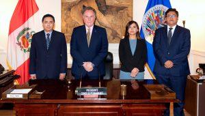 Peru Assumes Chair of Permanent Council. Place: Washington DC. Credit: Juan Manuel Herrera/OAS