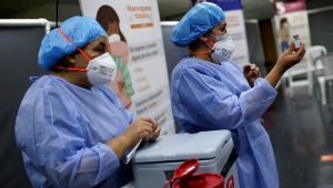 The Mu variant was first identified in Colombia and its prevalence there has been increasing. | LUISA GONZALEZ/REUTERS