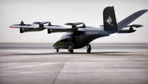 Artist's impression of a Vertical Aerospace VA-X4 aircraft. | PHOTO: Vertical Aerospace