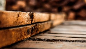 PHOTO: Shallow focus photography of brown wooden planks. | peakpx.com