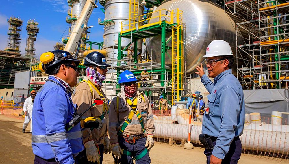 Refinería de Talara.   PetroPerú