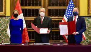 PHOTO: U.S. Embassy in Peru / Ministerio de Relaciones Exteriores del Perú