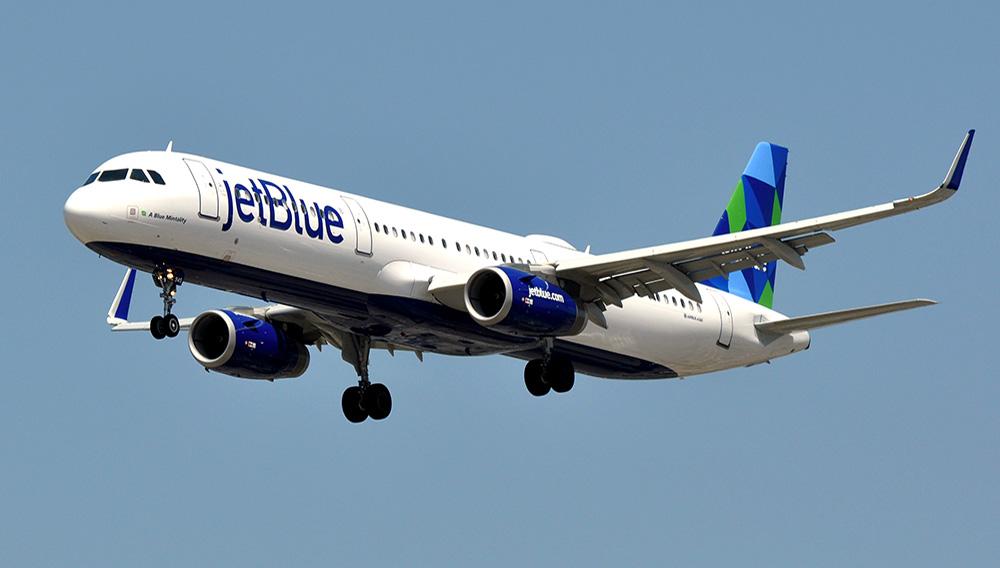 JetBlue Airways, Airbus A321-231.   PHOTO: Eric Salard