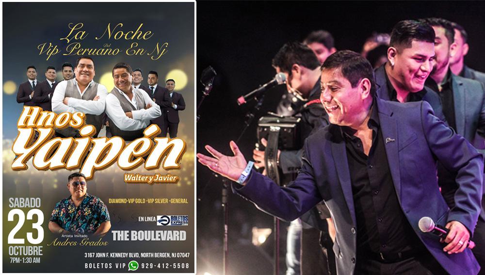 FOTO: La Noche del VIP Peruano en NJ / Hermanos Yaipén